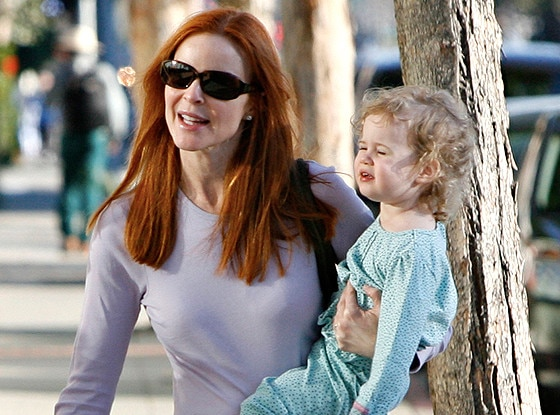 Marcia Cross, Eden Mahoney, Savannah Mahoney