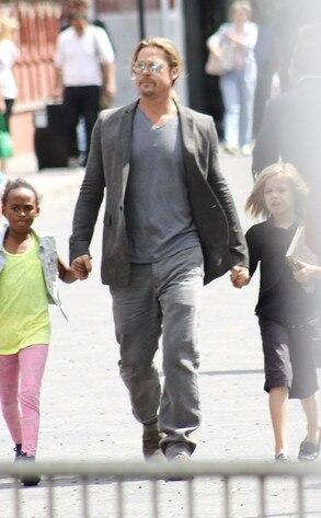 Brad Pitt, Shiloh, Zahara