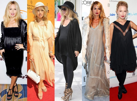 Rachel zoe s best fashion from her first pregnancy e news