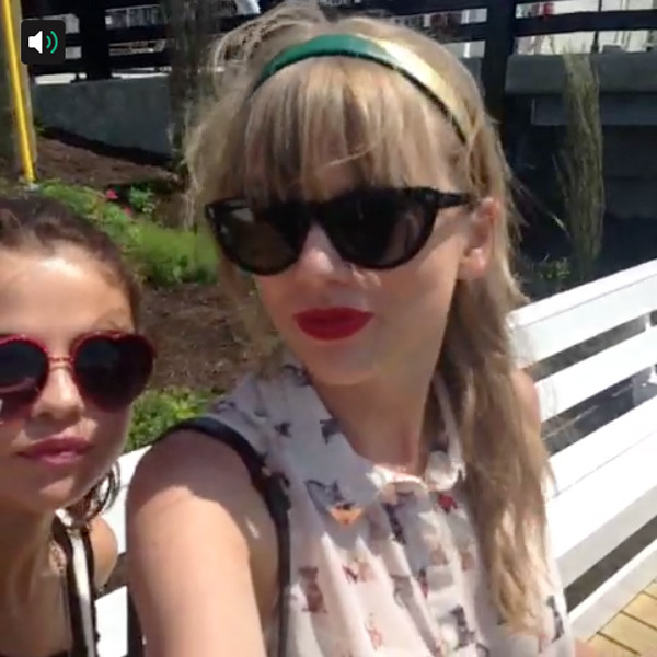 Selena Gomez, Taylor Swift, Vine