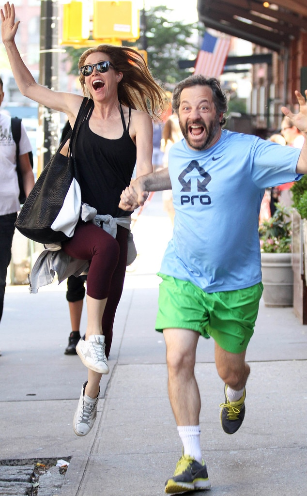 Leslie Mann & Judd Apatow from Couples Who Stay Fit ...