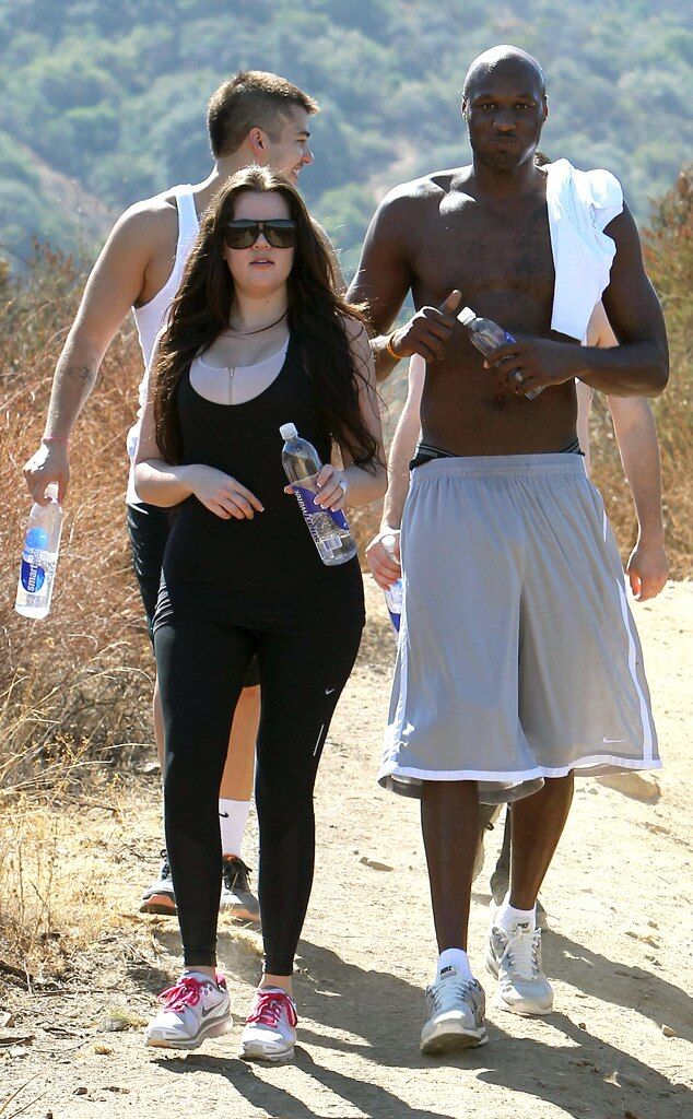 Khloe Kardashian, Lamar Odom, Rob Kardashian