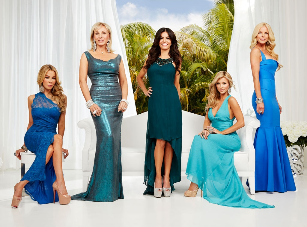 Real Housewives of Miami, Lisa Hochstein, Lea Black, Adriana De Moura, Joanna Krupa, Alexia Echevarria