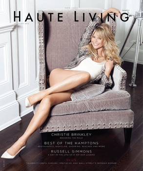 Christine Brinkley, Haute Living