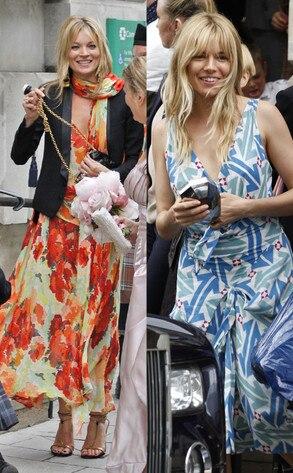 Kate Moss, Sienna Miller