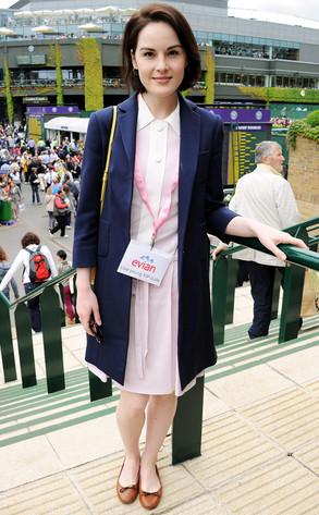 Michelle Dockery, Wimbledon