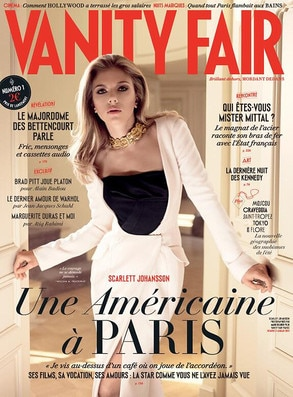 French Vanity Fair, Scarlett Johansson