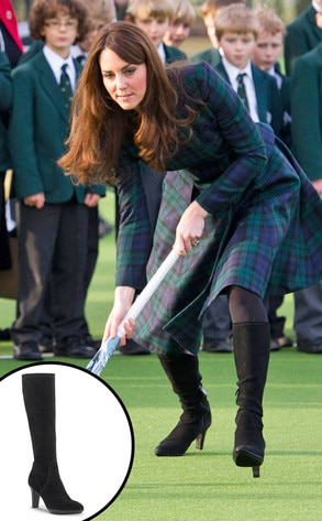 Kate Middleton, Rhumba Boots