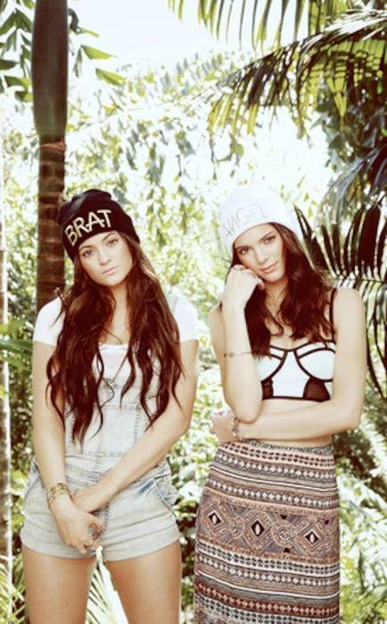 Kylie Jenner, Kendall Jenner, Pac Sun