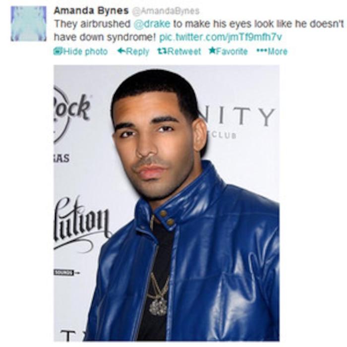 Drake, Amanda Bynes Tweet