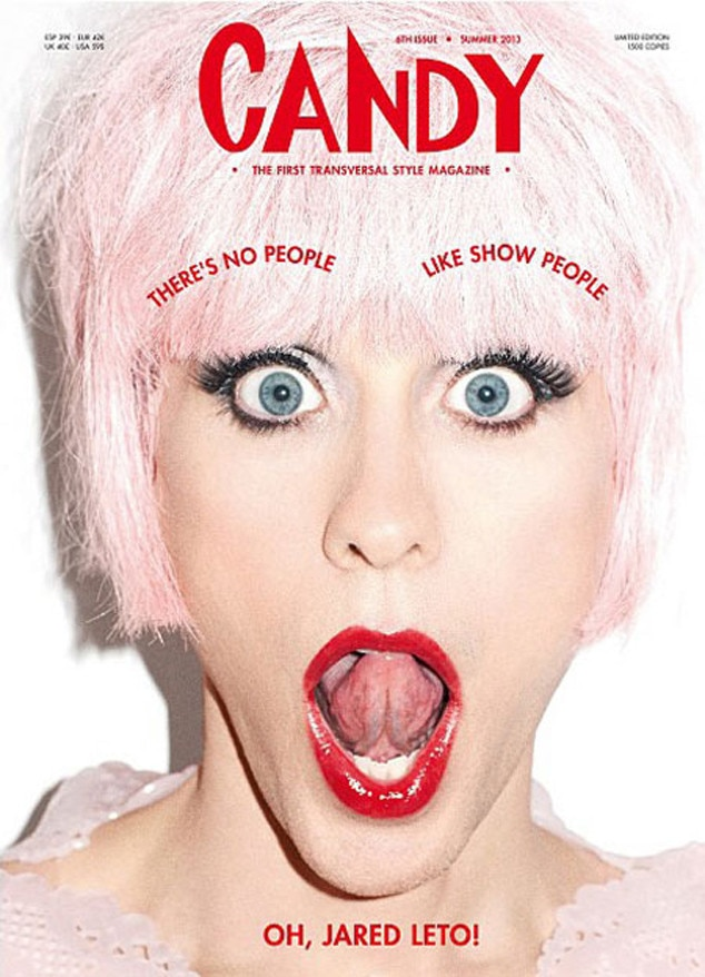 Jared Leto, Candy Magazine