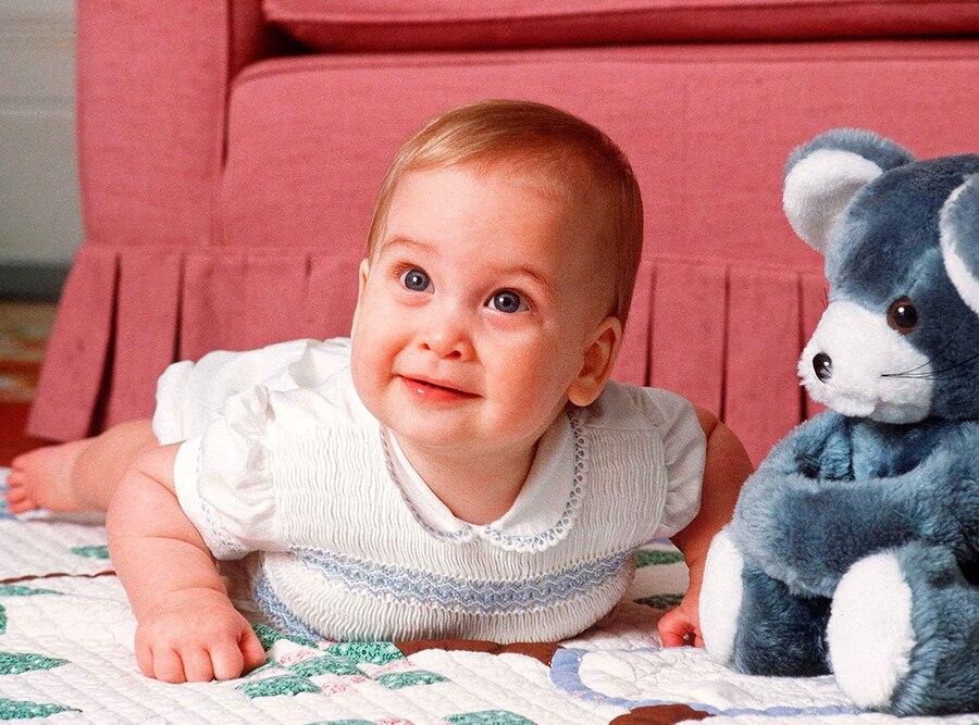 Prince William, Baby, 1983
