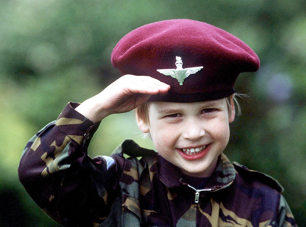 Prince William, Child