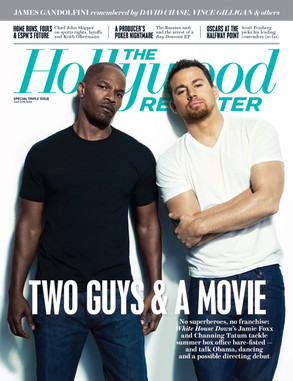 Jami Foxx, Channing Tatum, The Hollywood Reporter