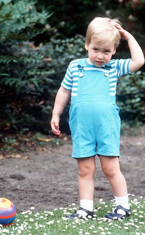 Prince William, Toddler