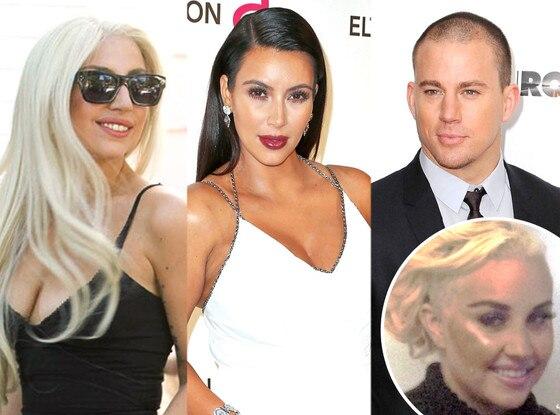 Lady Gaga, Kim Kardashian, Channing Tatum, Amanda Bynes
