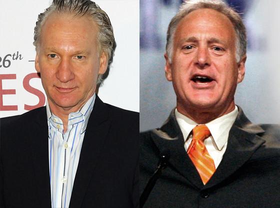 Bill Maher, Kirk Watson