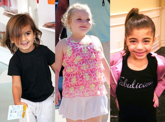 Mason Disick, Honey Boo Boo, Milania Guidice
