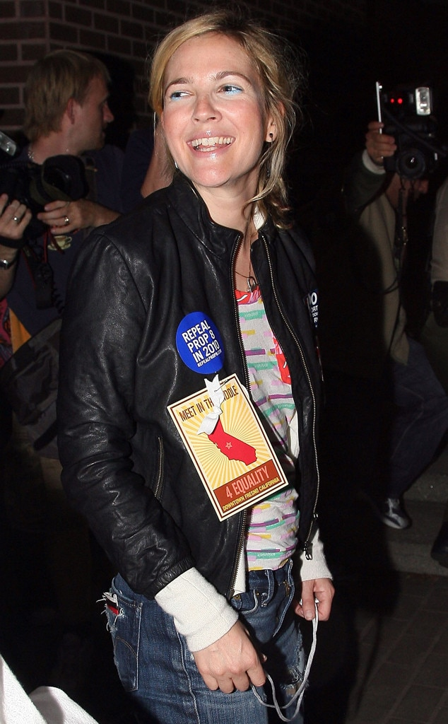 Drew Barrymore, Marriage Equality