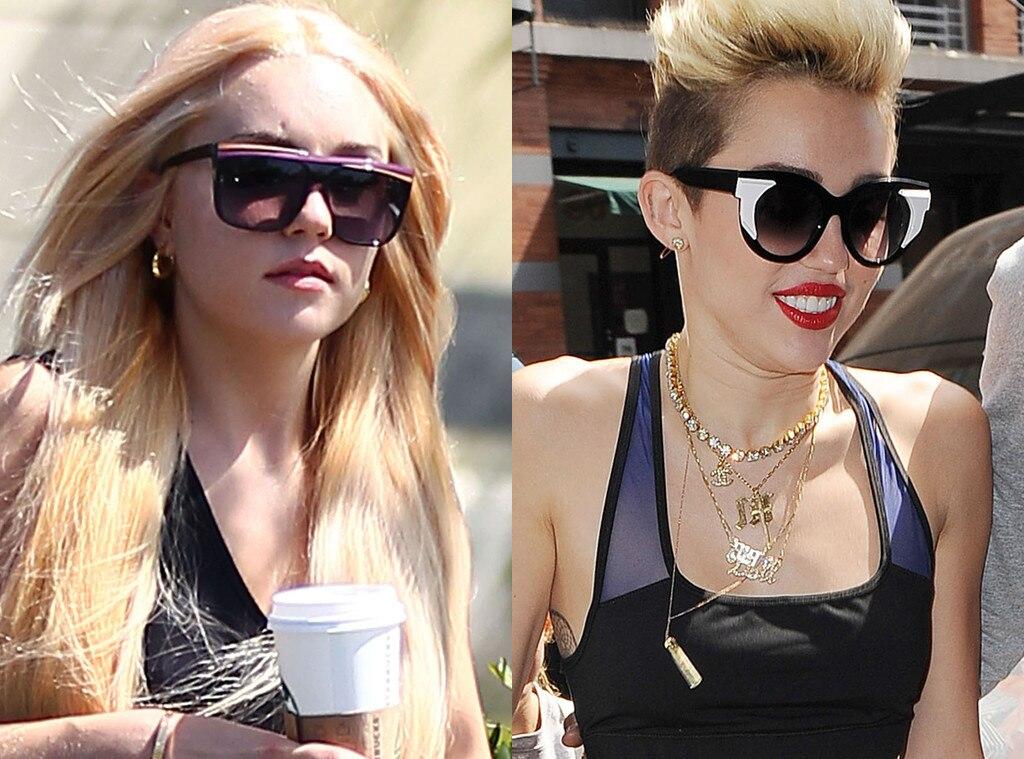 Amanda Bynes, Miley Cyrus