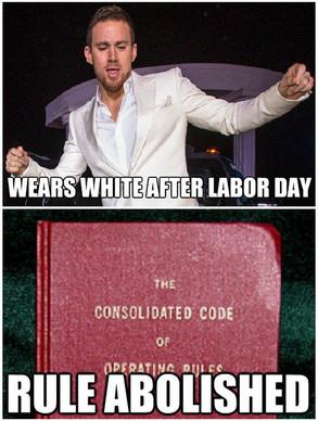 Tatum Wears White