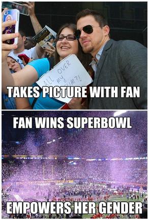 Tatum Fan Pleaser