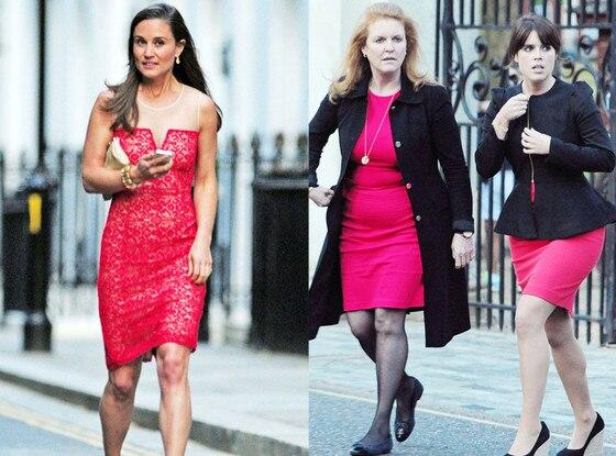 Fergie, Eugenie, Pippa Middlton
