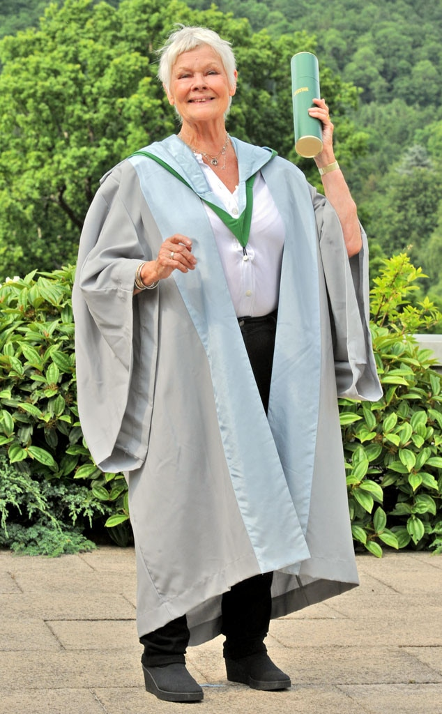 Judi Dench, Honorary Degree