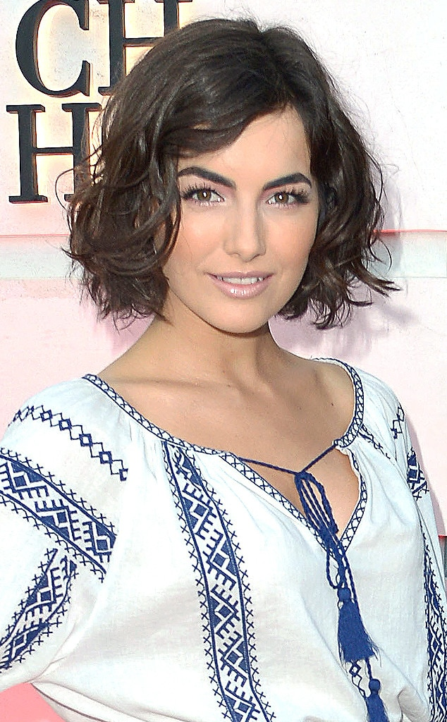 Camilla Belle, Bob Haircut