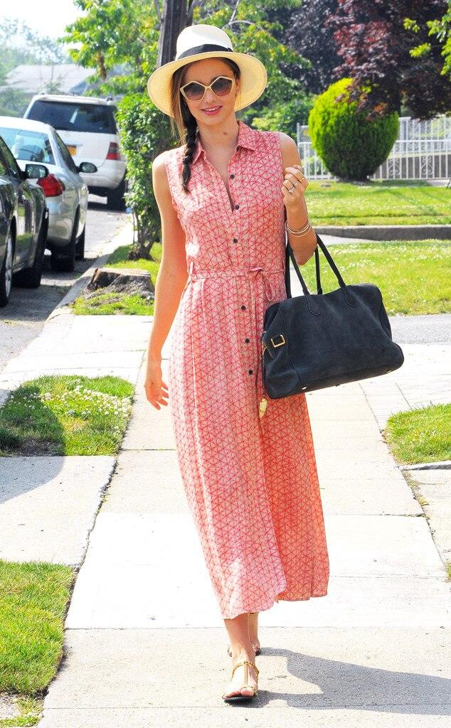 Miranda Kerr, Street Style, Hats