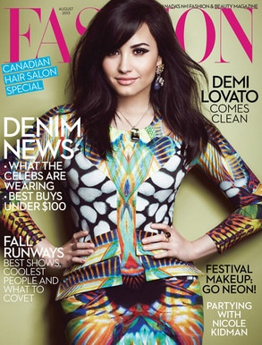 Demi Lovato, Fashion Magazine