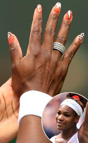 Serena Williams, Nails