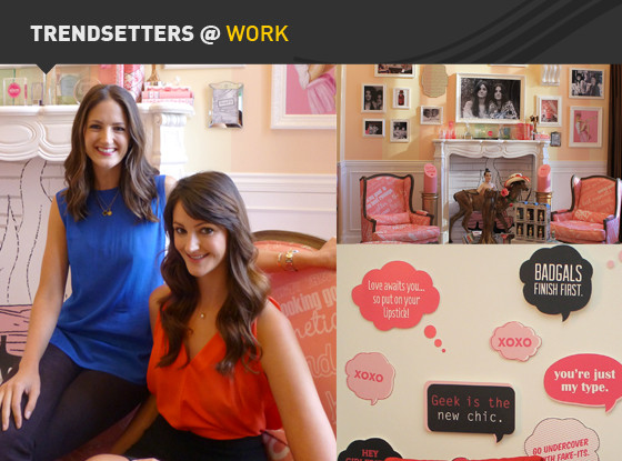 Trendsetters at work,Benefit