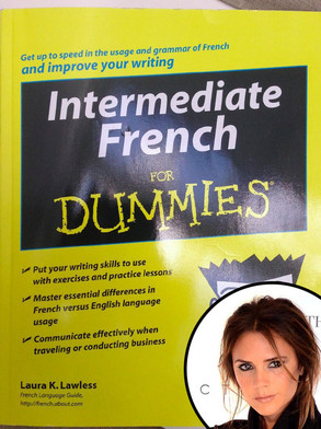 Victoria Beckham, Intermediate French for Dummies, Twit Pic