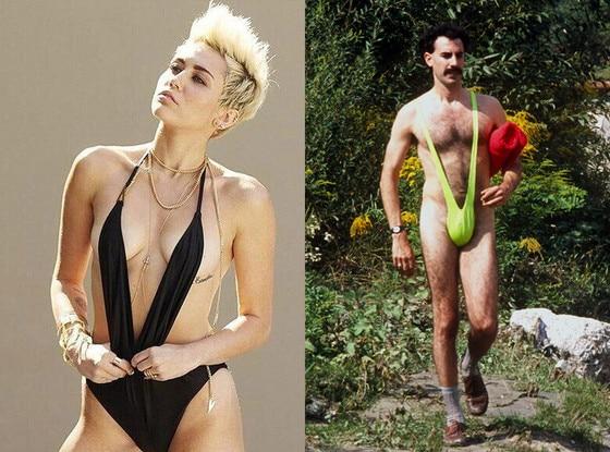 Sacha Baron Cohen, Miley Cyrus