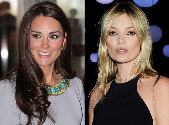 Kate Moss, Duchess Catherine, Kate Middleton
