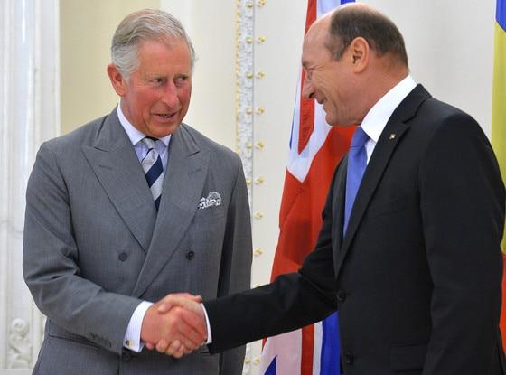 Prince Charles, Traian Basescu
