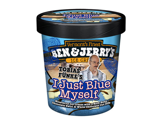 I Just Blue Myself, Ben and Jerry's