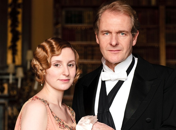 Downton Abbey,  Laura Carmichael, Robert Bathurst