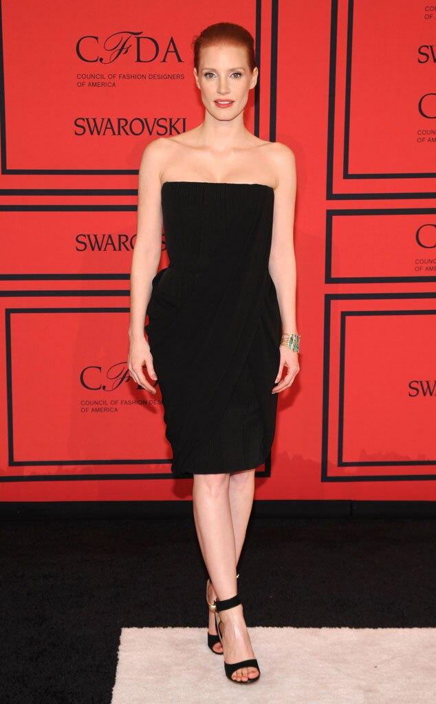 CFDA Fashion Awards, Jessica Chastain