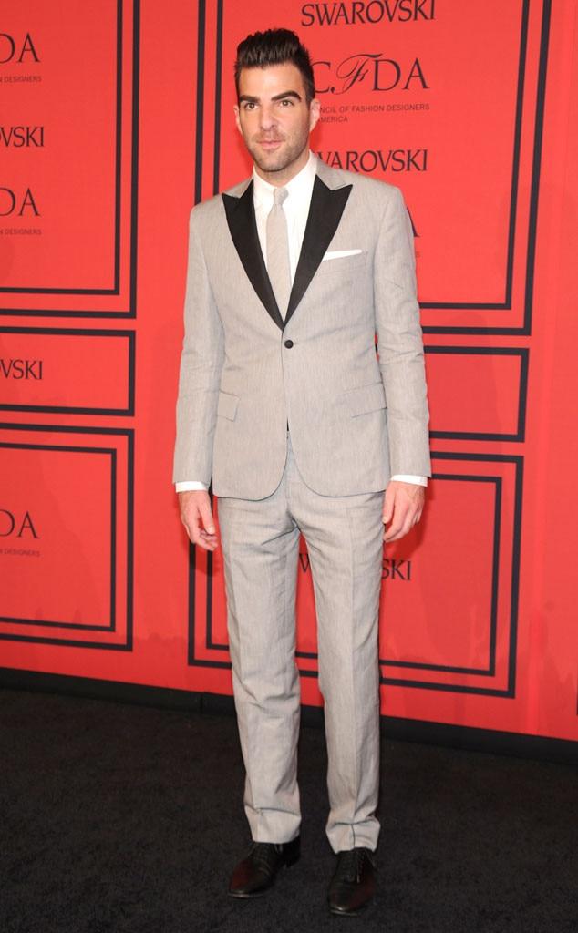 CFDA Fashion Awards, Zachary Quinto
