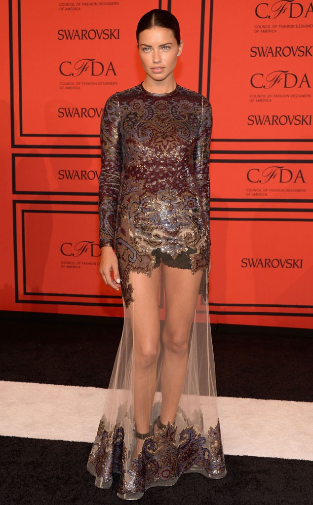 CFDA Fashion Awards, Adriana Lima