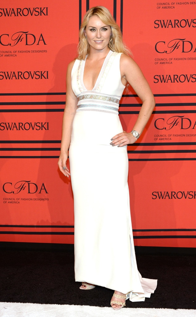 CFDA Fashion Awards, Lindsey Vonn