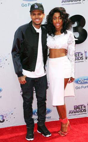 Chris Brown, Sevyn Streeter, 2013 BET Awards