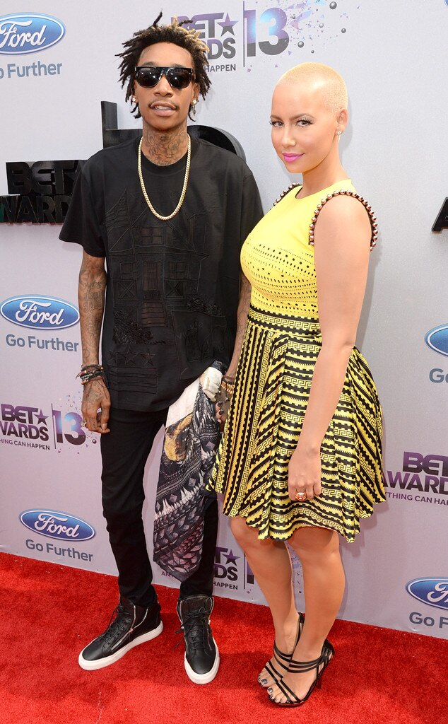Wiz Khalifa, Amber Rose, 2013 BET Awards