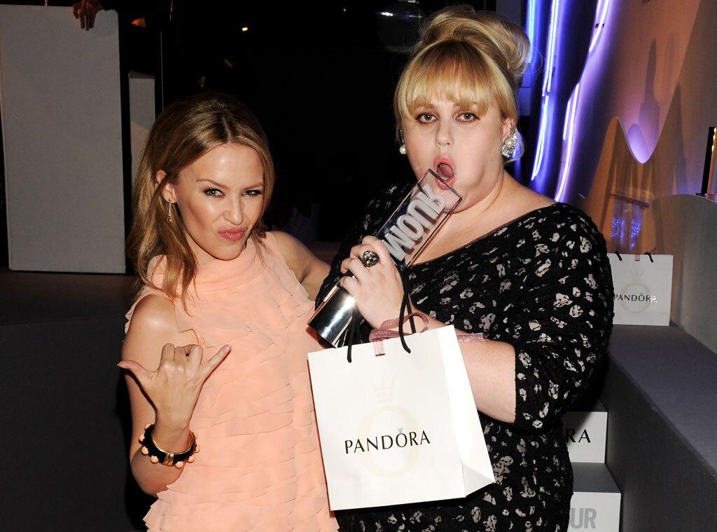 Kylie Minogue, Rebel Wilson, Glamour Awards