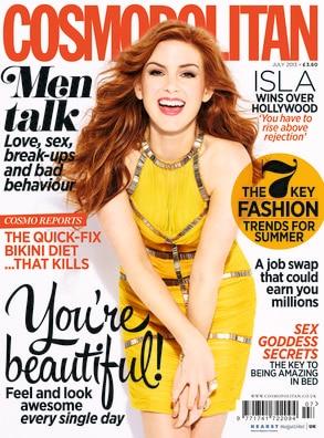 Isla Fisher, Cosmopolitan