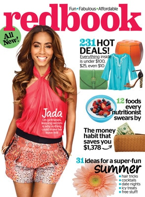 Jada Pinkett Smith, Redbook Cover