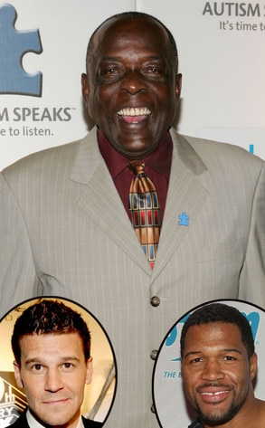 Deacon Jones, David Boreanaz, Michael Strahan