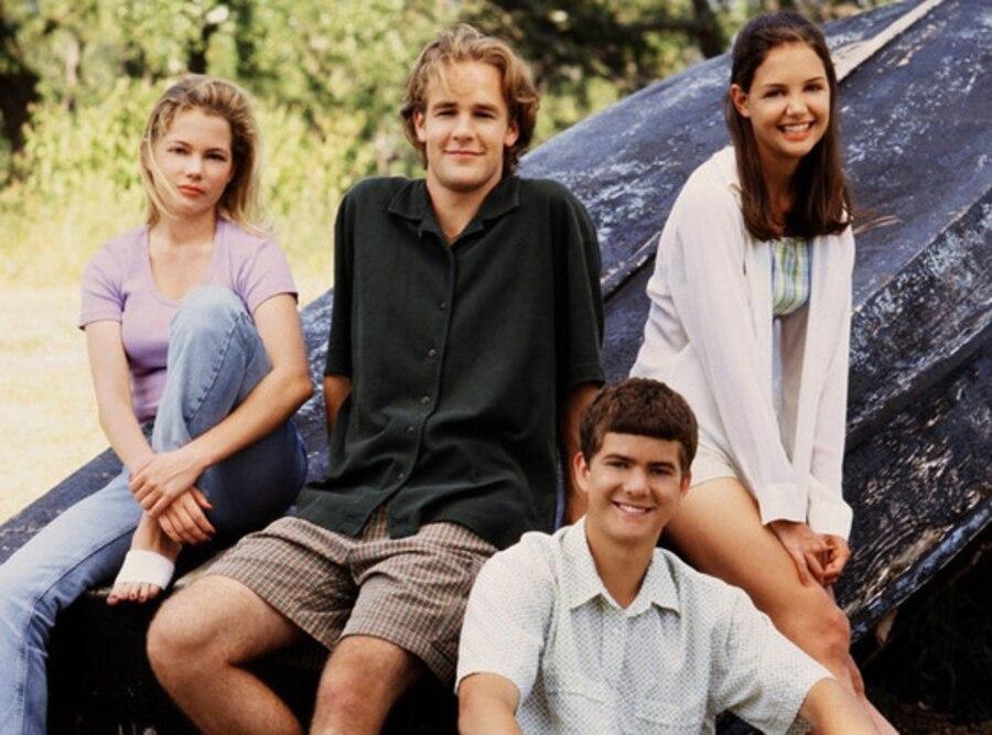Katie Holmes, James Van Der Beek, Michelle Williams, Joshua Jackson, Dawsons Creek